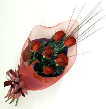 a3ed703ef9313 Foto de Ramo de 6 rosas importadas
